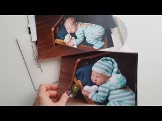 """Пакет """"Оптимальный"""" по фотосъемке новорожденных малышей"""