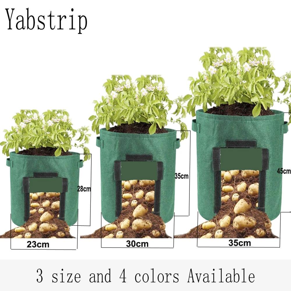 Мешки для выращивания картошки или рассады -
