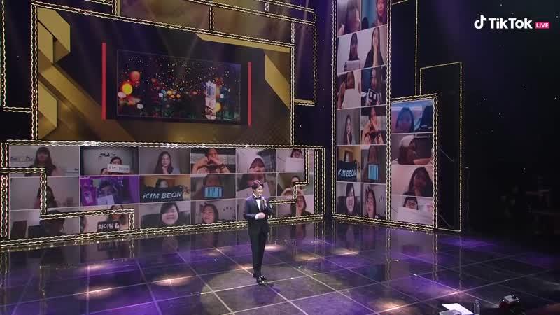 틱톡과 5명의 슈스들이 함께하는 랜선팬미팅 맨앤미션 김범 편 - TikTok Stage with Men and Mission Kim Beom ver. (720p)