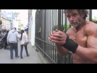Бездомный Культурист/Бомж-качок/Мотивация/Homeless Bodybuilder Motivation