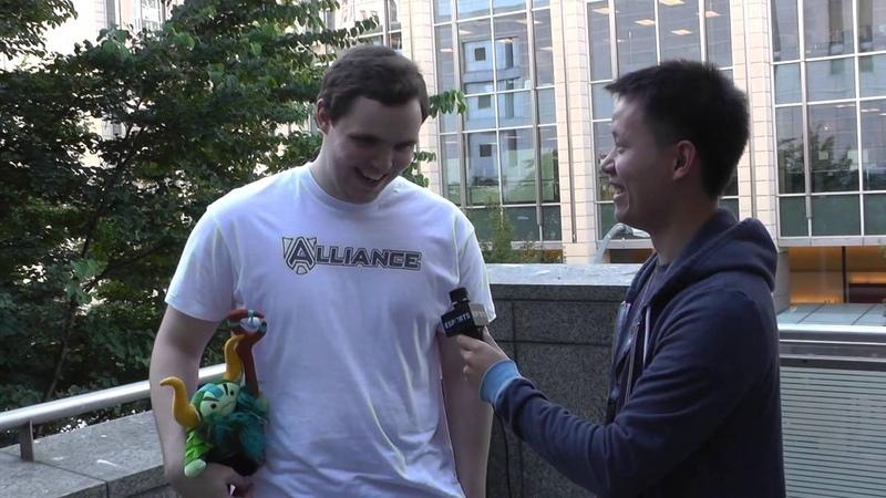 Alliance AdmiralBulldog Interview @ The International 3