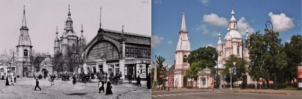Железный корпус Андреевского рынка, Большой проспект Васильевского острова, Санкт-Петербург