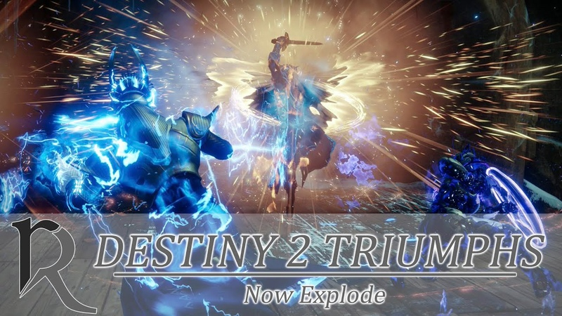 Destiny 2 Triumph Now Explode in Mayhem Триумф Сейчас Рванет в Хаосе