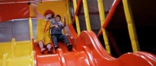 Ronald McDonald Murder Slide