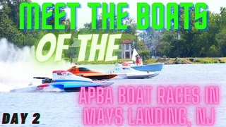 Day 2 Meeting up with the boats. #APBA Lake Lenape, Mays Landing, NJ
