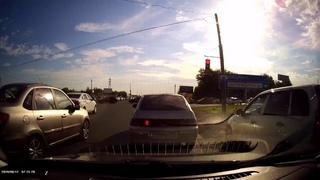 Тольятти: типичный быдло водитель