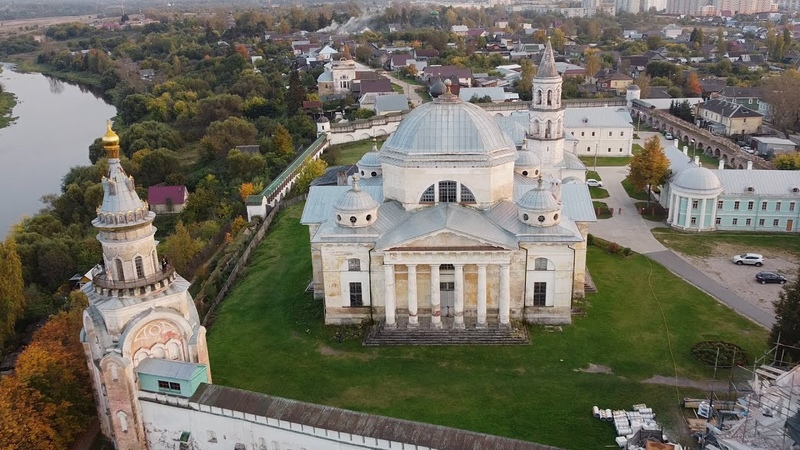 Борисоглебский монастырь Торжок Сентябрь 2020