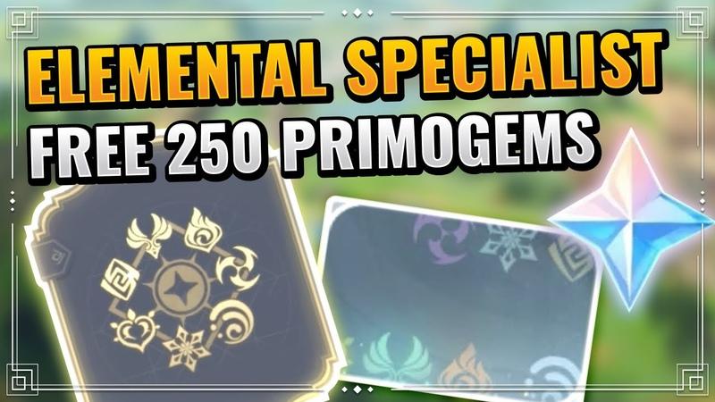 Genshin Impact Elemental Specialist Achievement Guide F2P Friendly Rainbow Namecard Unlock