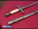 В Толбухино привезли коллекционный масонский меч Ордена Тамплиеров