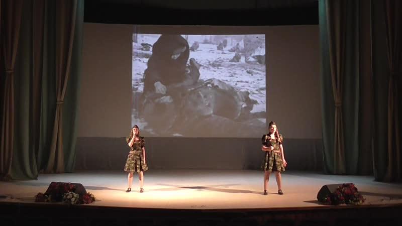 Помни дуэт Валерия Галбич 13 лет и Полина Ефремова 13 лет образцовой вокальной студии Арлекин ТытожеродилсявРоссии2020