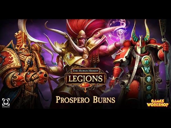 The Horus Heresy Legions закат Красного короля 2 часть