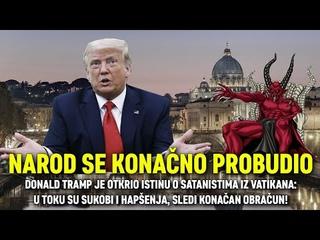 NAROD SE KONAČNO PROBUDIO: Tramp je otkrio istinu o satanistima iz Vatikana, sledi konačan obračun!