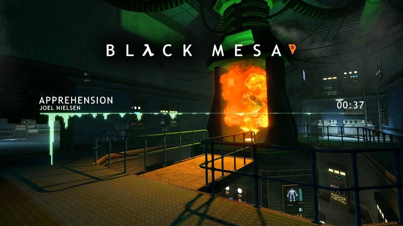 Black Mesa Source Soundtrack - Apprehension by Joel Nielsen