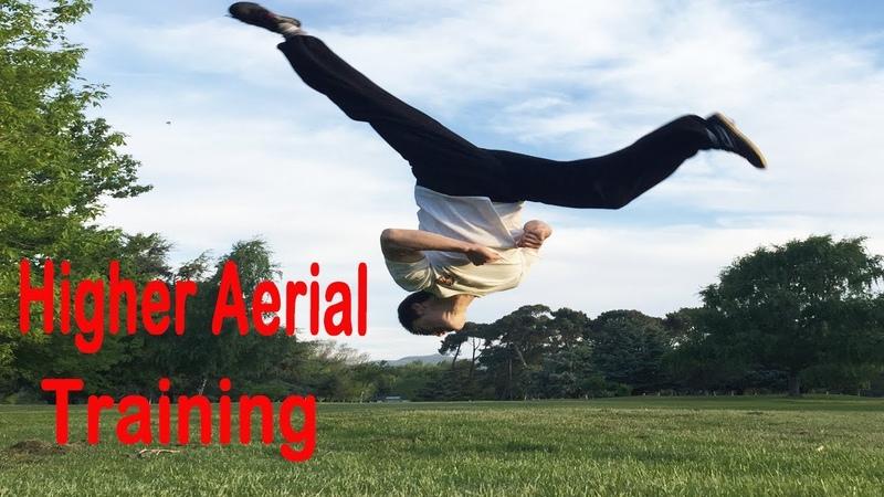 Kung Fu Wushu Aerial Kick full Training Tutorial for Beginners