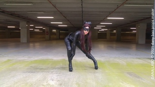 DANA LABO - Catwoman the best costume cosplay, Hanne hathaway, leather boots, catsuit, gloves, mask