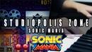Sonic Mania Studiopolis Zone Act 1 Cover Mohmega