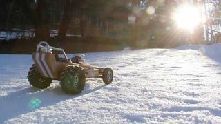 Headquake's RC - #90 (snow dragster) Feb 8 2012