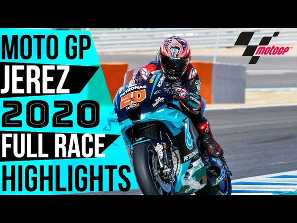 MOTO GP 2020 JEREZ FULL RACE HIGHLIGHTS Marquez horrible crash Rossi out MOTO GP TODAY