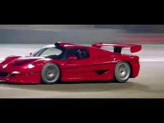 Ferrari F50 GT on Yas Marina Circuit