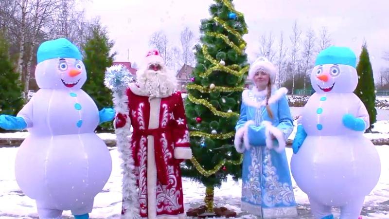 Церемония зажжения огней на новогодней елке, в рамках проекта Зима в Подмосковье