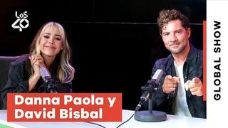 Entrevista a DAVID BISBAL y DANNA PAOLA: la magia de VUELVE, VUELVE + la diferencia de TOP STAR