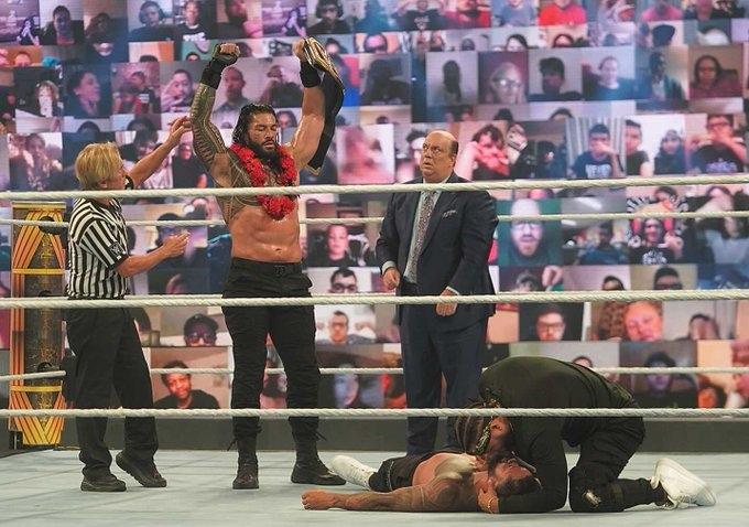 Результаты шоу WWE Clash Of Champions 2020, изображение №11
