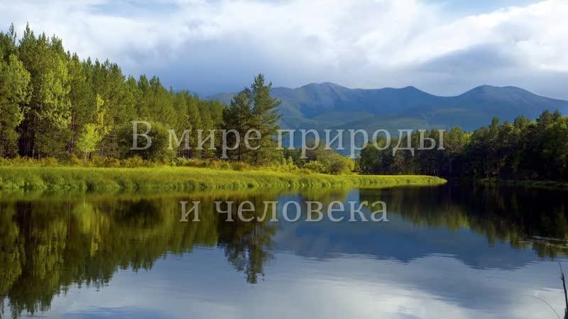 В мире природы и человека Презентация ко дню рождения К Г Паустовского