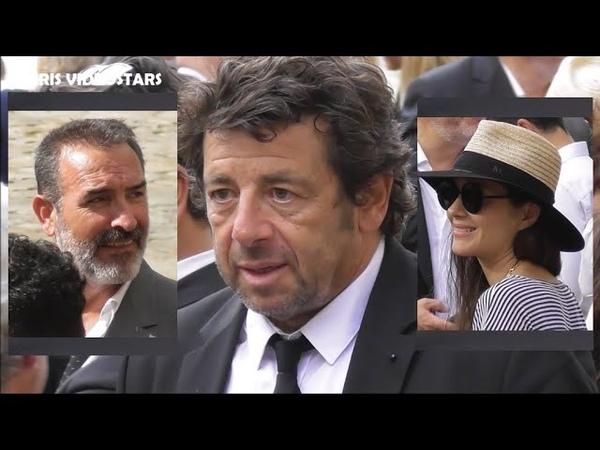 Les célébrités arrivent pour l'Hommage National à Jean Paul Belmondo le 9 septembre 2021 à Paris