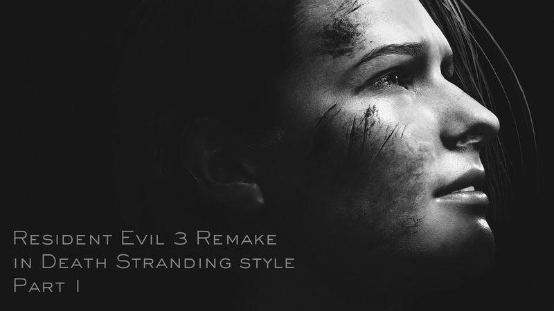 Resident Evil 3 Remake in Death Stranding Style Part 1