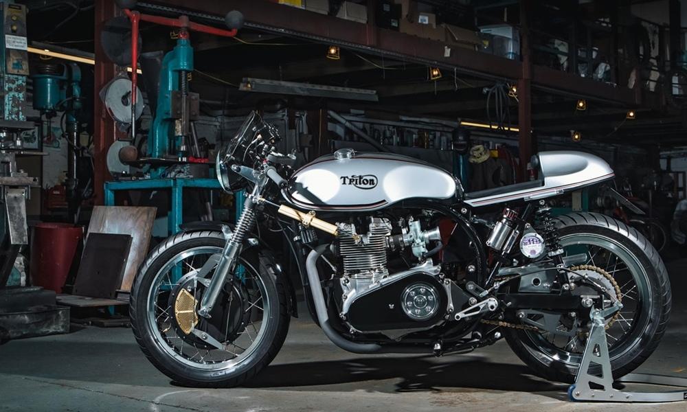 Team R&D Motorcycles: Кафе рейсер Triton