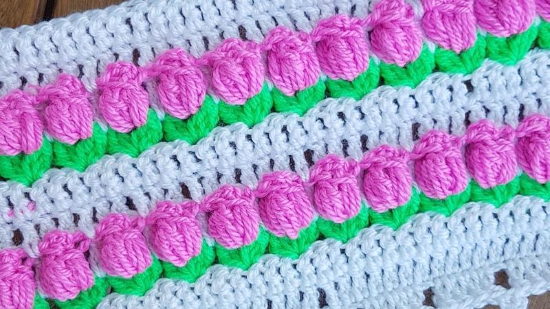 Lale Battaniye Yastık Kılıfı Lif Tulip Blanket Cushion
