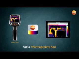 Мобильное приложение testo Thermography App