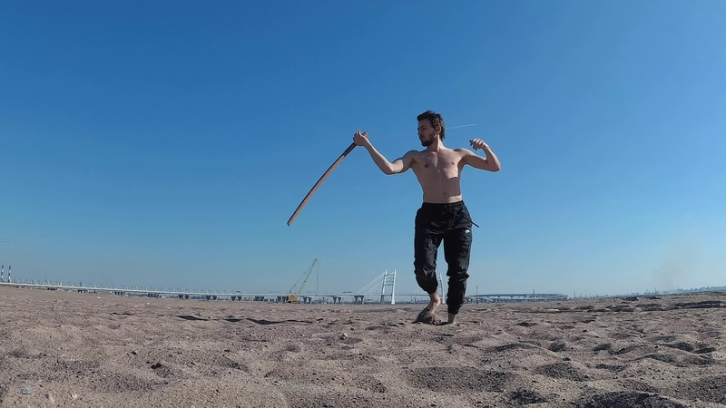 Warrior way - work with bokken